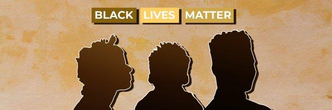 Black Lives Matter banner by Francita