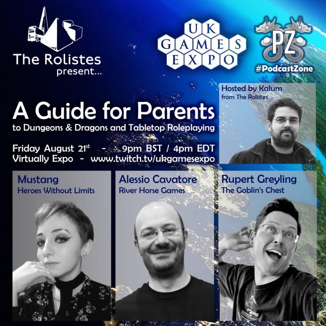 The Rolistes Present_Panel 20.08.21_Announcement